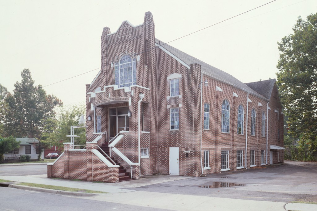 Bethel Baptist Church in Birmingham, Ala. Its pastor, Rev. Fred Shuttlesworth, was co-founder of the co-founder of the Southern Christian Leadership Conference (SCLC) and one of the South's most prominent Civil Rights leaders. (Library of Congress Photo)