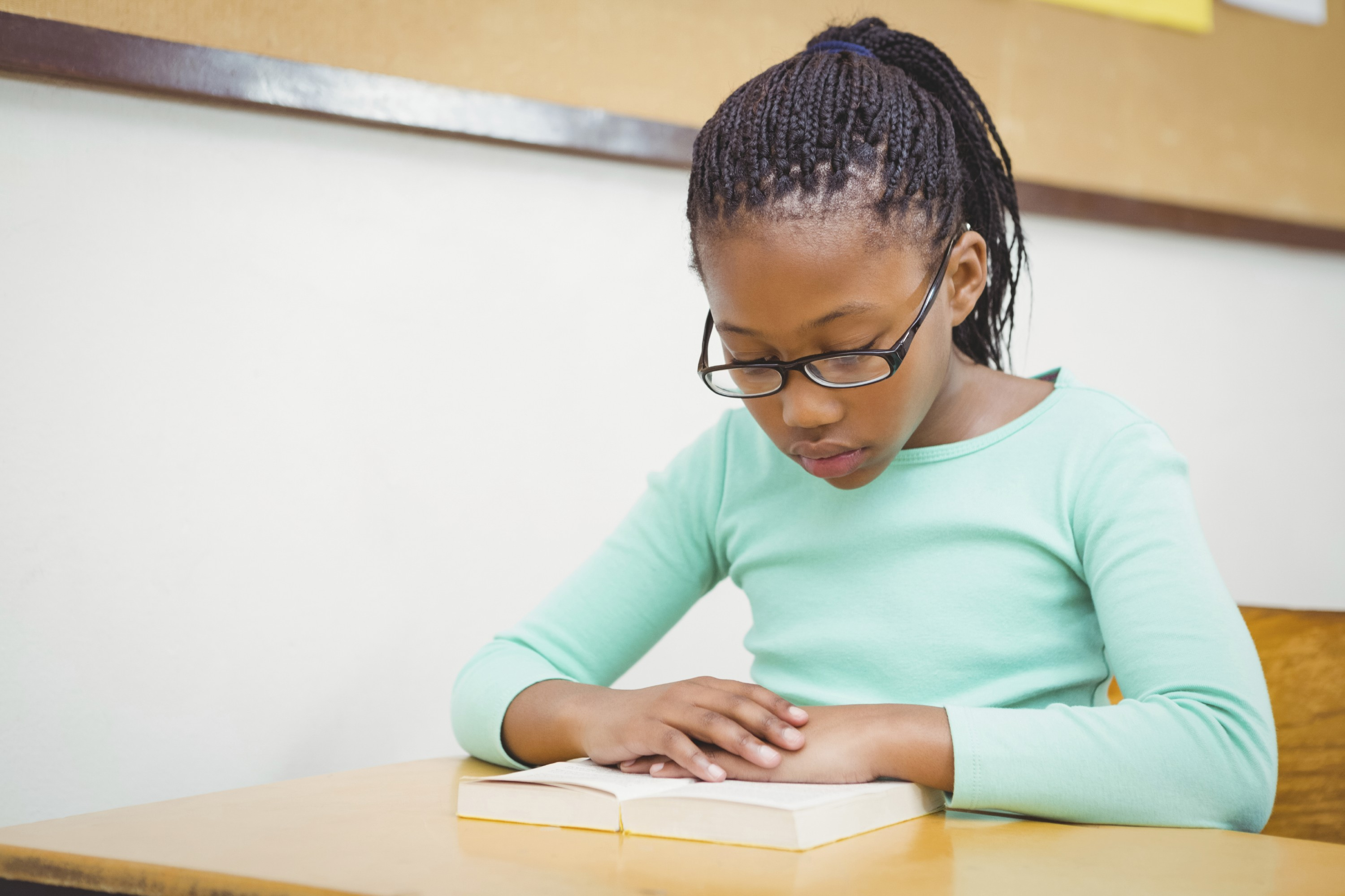A child reading. (iStock Photo)