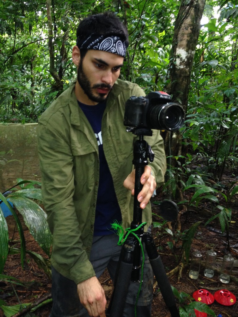 Virgilio Lopez III '16 (CLAS) is a McNair Scholar with a major in ecology and evolutionary biology. (Photo courtesy of McNair Scholars Program)