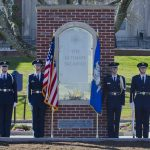 Veterans Day Ceremony at UConn's Ultimate Sacrifice Memorial. (Ariel Dowski '14 (CLAS)/UConn File Photo)