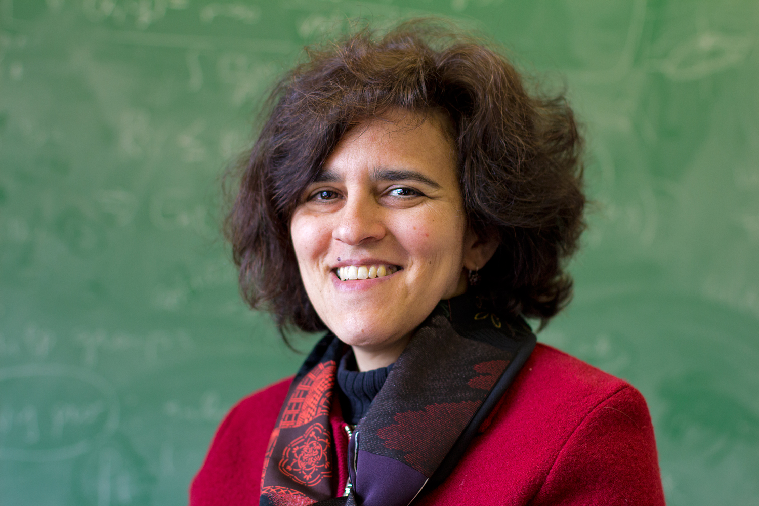 Head shot of Masha Gordina, professor of mathematics. (Bria Diaz/UConn Photo)