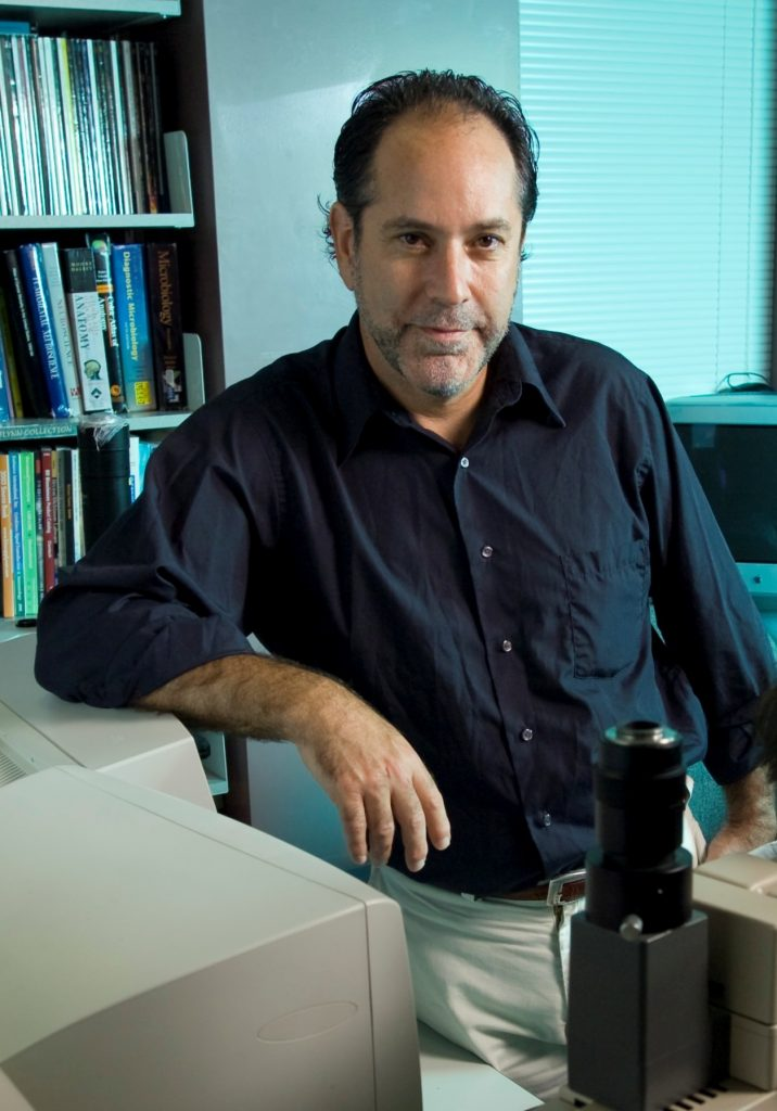 Principal investigator Daniel W. Rosenberg, professor of medicine, Department of Genetics and Developmental Biology. (Al Ferreira for UConn Health)