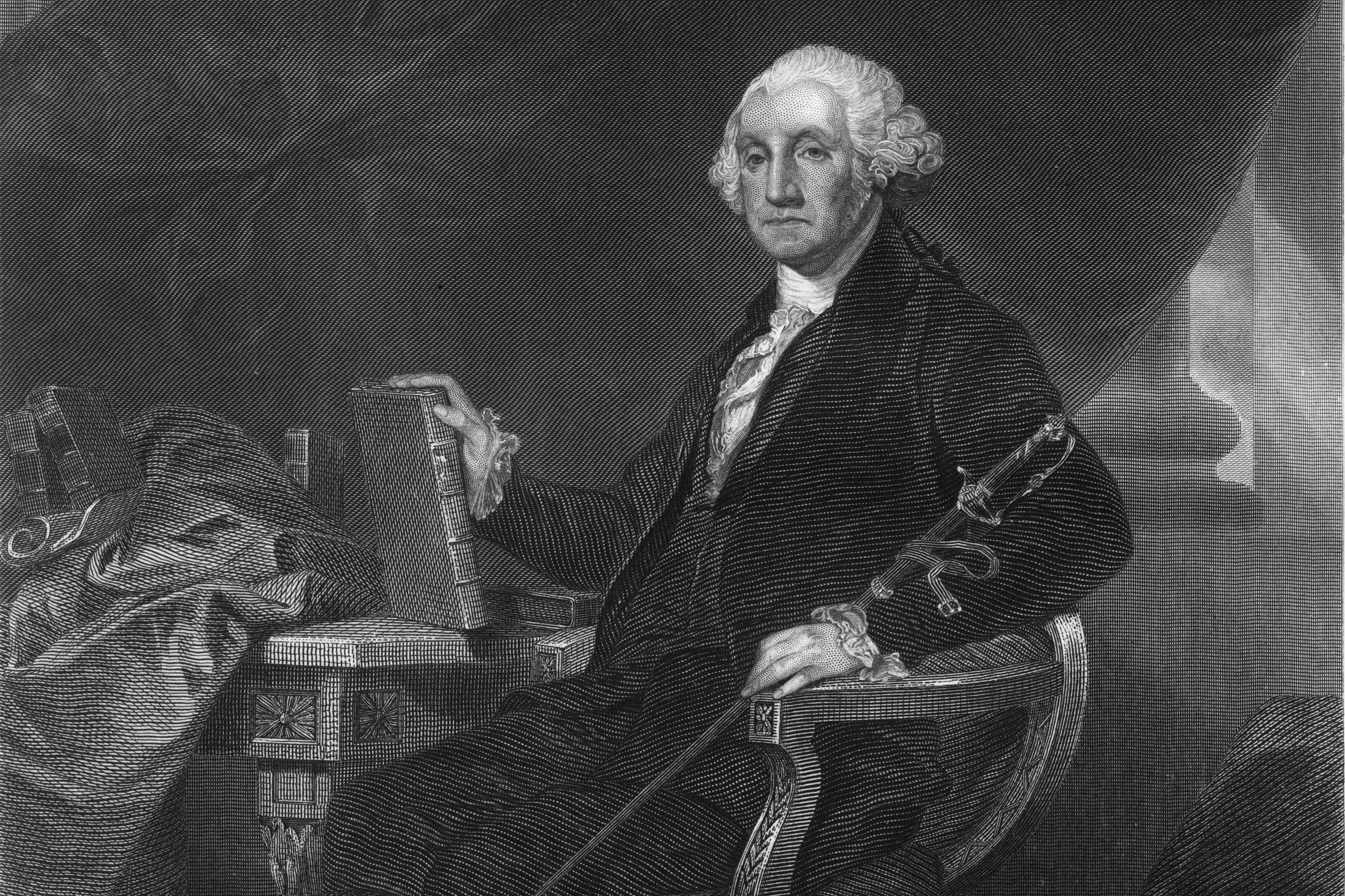 George Washington from the National Portrait Gallery of Eminent Americans, Vol. I, 1862. (iStock Image)