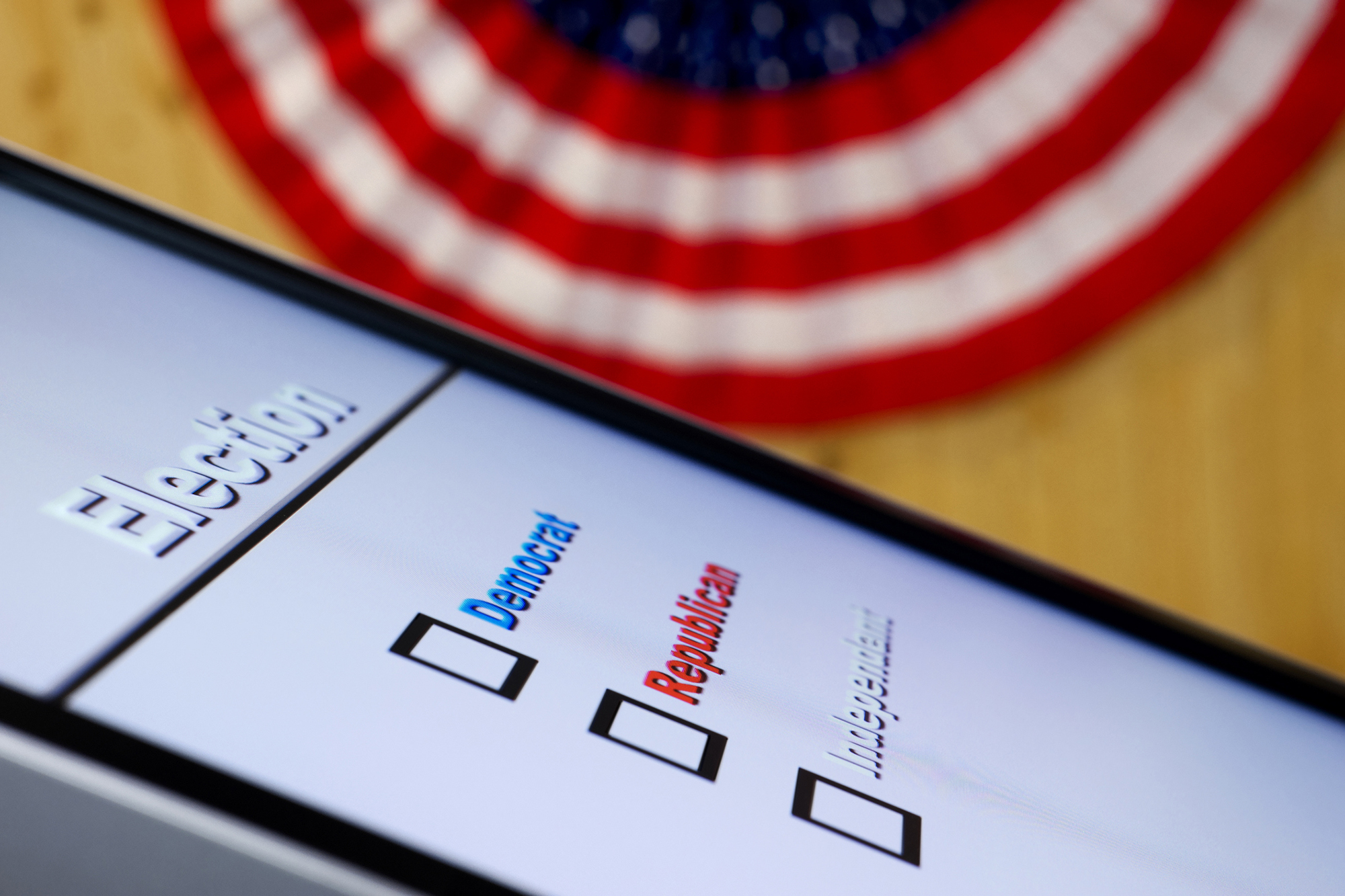 Electronic Voting. (cmannphoto/Getty Images)