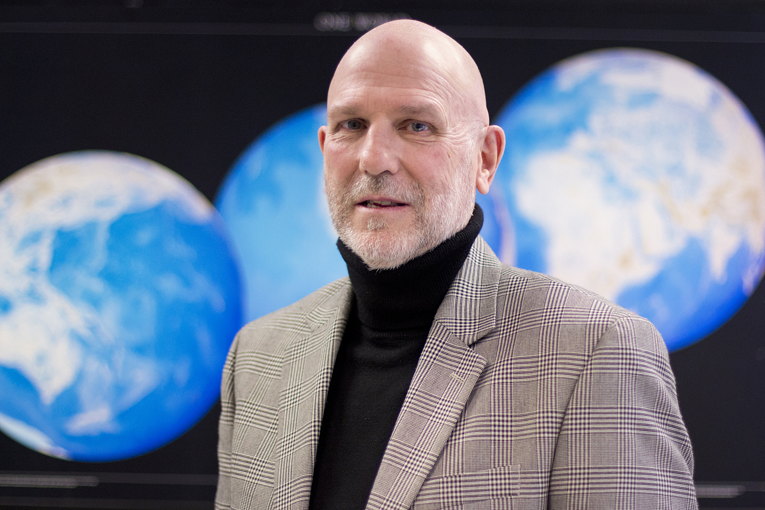 Mike Willig, Board of Trustees Distinguished Professor of Ecology and Evolutionary Biology and director of the Center for Environmental Sciences and Engineering, on April 4, 2016. (Bri Diaz/UConn Photo)