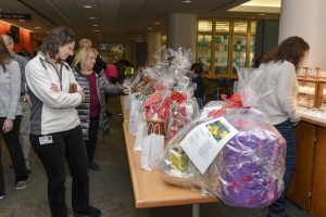The Holiday Bazaar is one of the Auxiliary's biggest annual fundraisers. (Photo by Janine Gelineau)