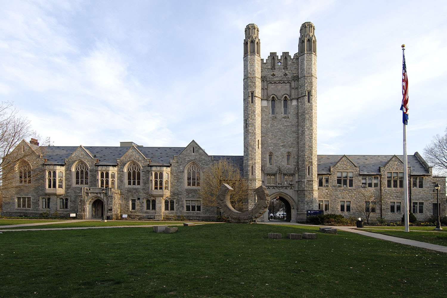 Starr Hall at the UConn School of Law campus