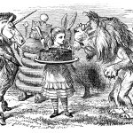 Illustration from Alice Through the Looking Glass by Sir John Tenniel. (Getty Images)