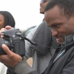 A UConn researcher is working in three African countries, exploring ways to use video and photography to empower young people to tell the stories that matter to them. (Courtesy of Lisa Butler)