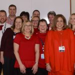 CEO Anne Diamond and Team Go Red