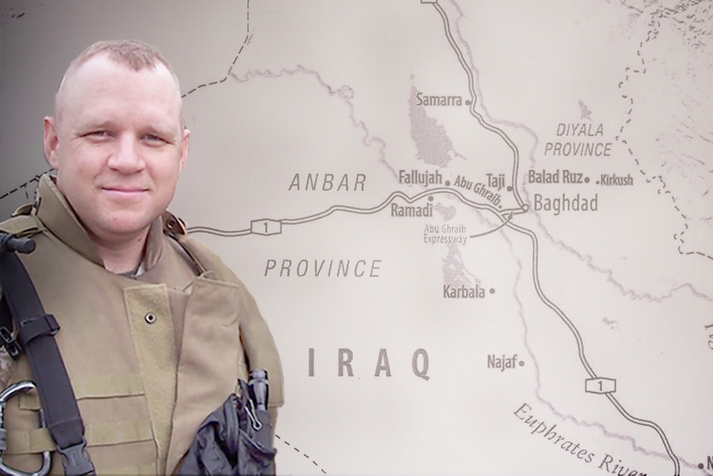 Veteran Michael Zacchea discusses the hardships and challenges of his assignment as the first U.S. military adviser to build, train, and lead the Iraqi Army after the overthrow of Saddam Hussein. (Photo courtesy of Michael Zacchea)