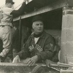 Coach Jim Penders' paternal grandfather, Jim W. Penders, longtime championship baseball coach, with four state titles, at Stratford (Connecticut) High School.