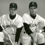 Coach Jim Penders' Uncle Tom, left, and father, Jim E. Penders.