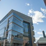 After a dedication ceremony in June, researchers began moving into the new Engineering and Science Building in July, and the facility opened for business in the fall. (Sean Flynn/UConn Photo)