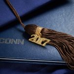 2017 UConn tassel and graduation book