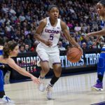 Crystal Dangerfield (pictured) and Megan Walker were selected to the USA Basketball U19 World Cup Team on Sunday.