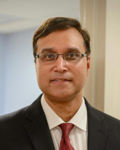 Dr. Ketan Bulsara (Photo by Janine Gelineau)