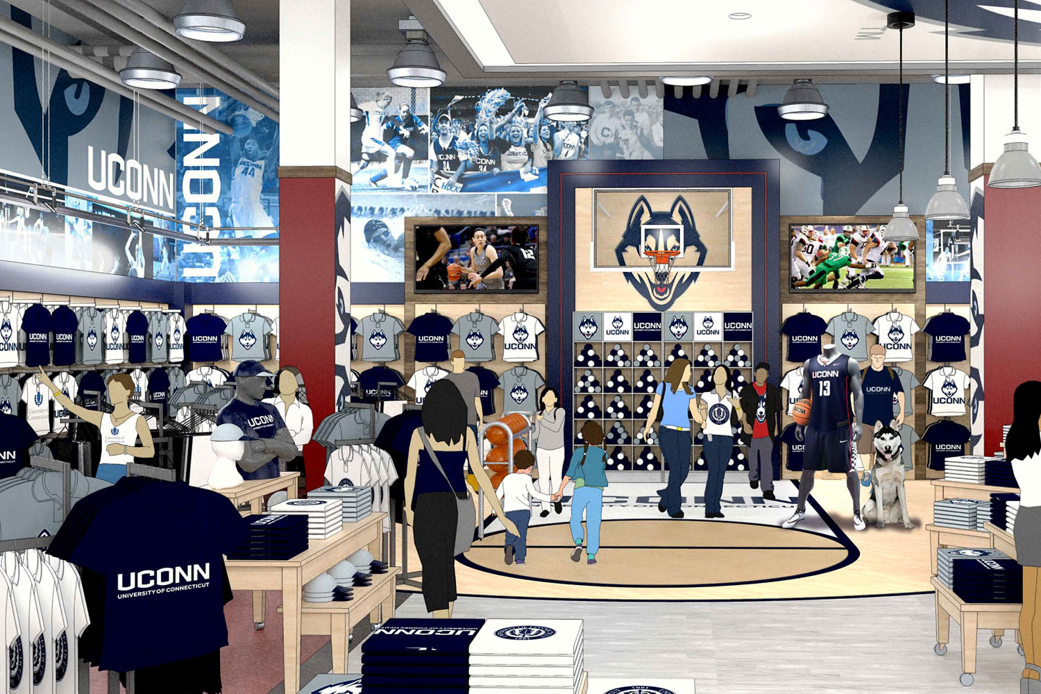 Campus Bookstore Renovations Aim To Create Social Hub Uconn Today