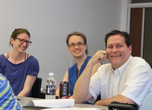Attendees at the seminar were pharmacists associated with Genoa QoL Healthcare. (Sheila Foran/UConn Photo)
