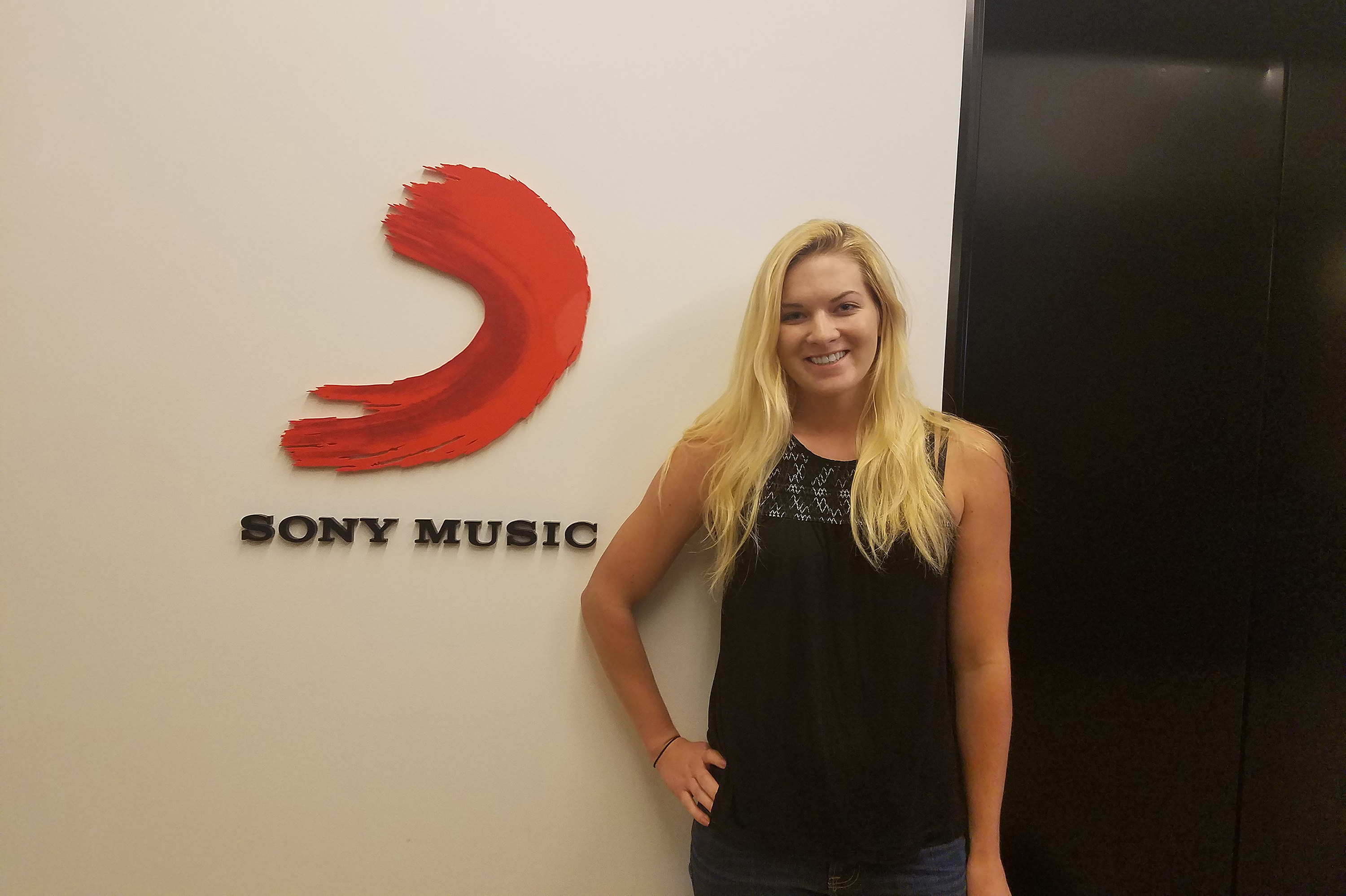 Maggie Quackenbush '17 (BUS) is one of only two recent graduates accepted for a two-year program at Sony Music that will take her to Manhattan, New Jersey, and Munich. (Photo courtesy of Maggie Quackenbush)