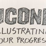 Image with the words, Illustrating UConn's progress..