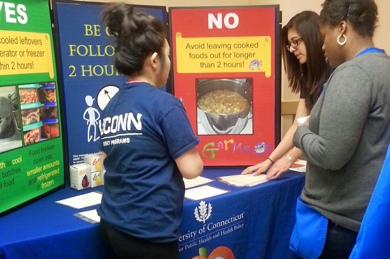 Husky Nutrition is a program for parents aimed to reduce sugar-sweetened beverage consumption. (UConn Health Photo)