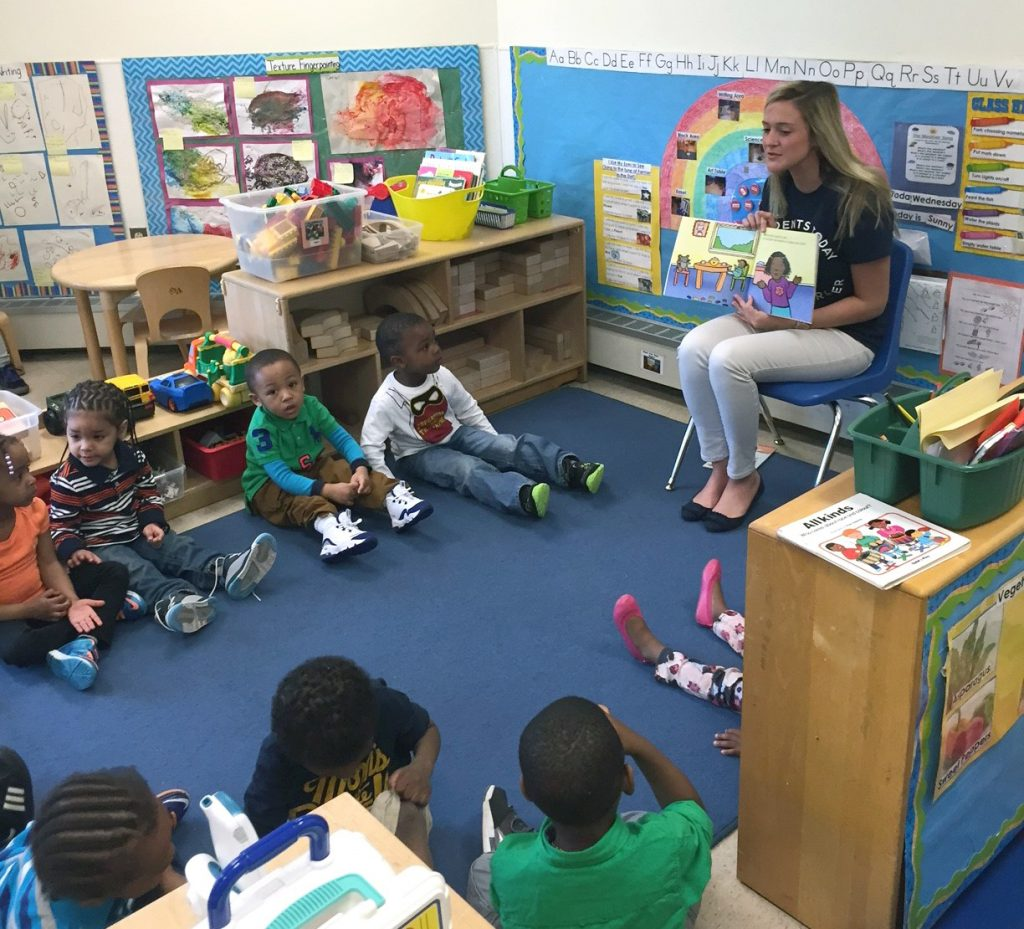 Husky Reads, a program modeled on 'Reach Out and Read,' provides nutrition education through children's literature. (UConn Health Photo)