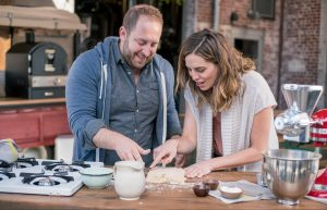 Chef Joel Gamoran heads to Asheville, North Carolina, where he visits local celebrity chef Katie Button.