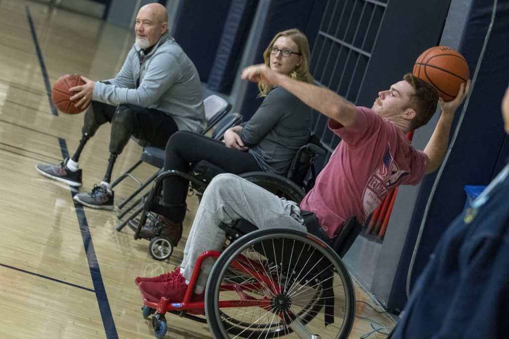 Swish Wheelchair Basketball Takes The Court Uconn Today