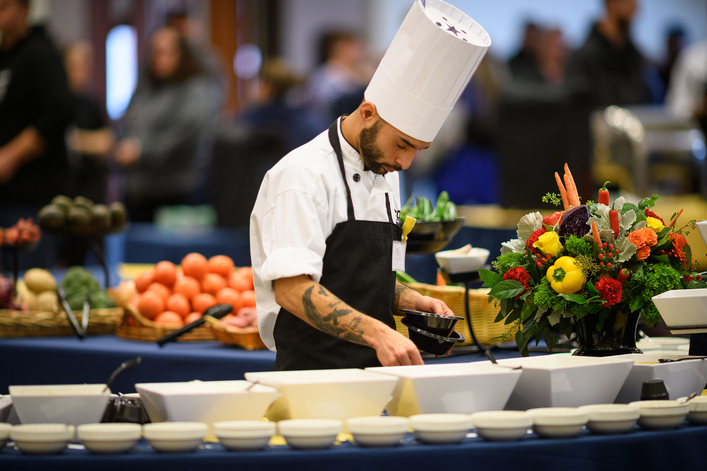 UConn Chefs Cook Up a Storm at Culinary Competition