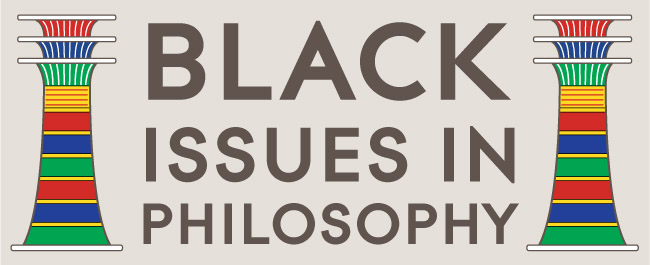 Black Issues in Philosophy logo.