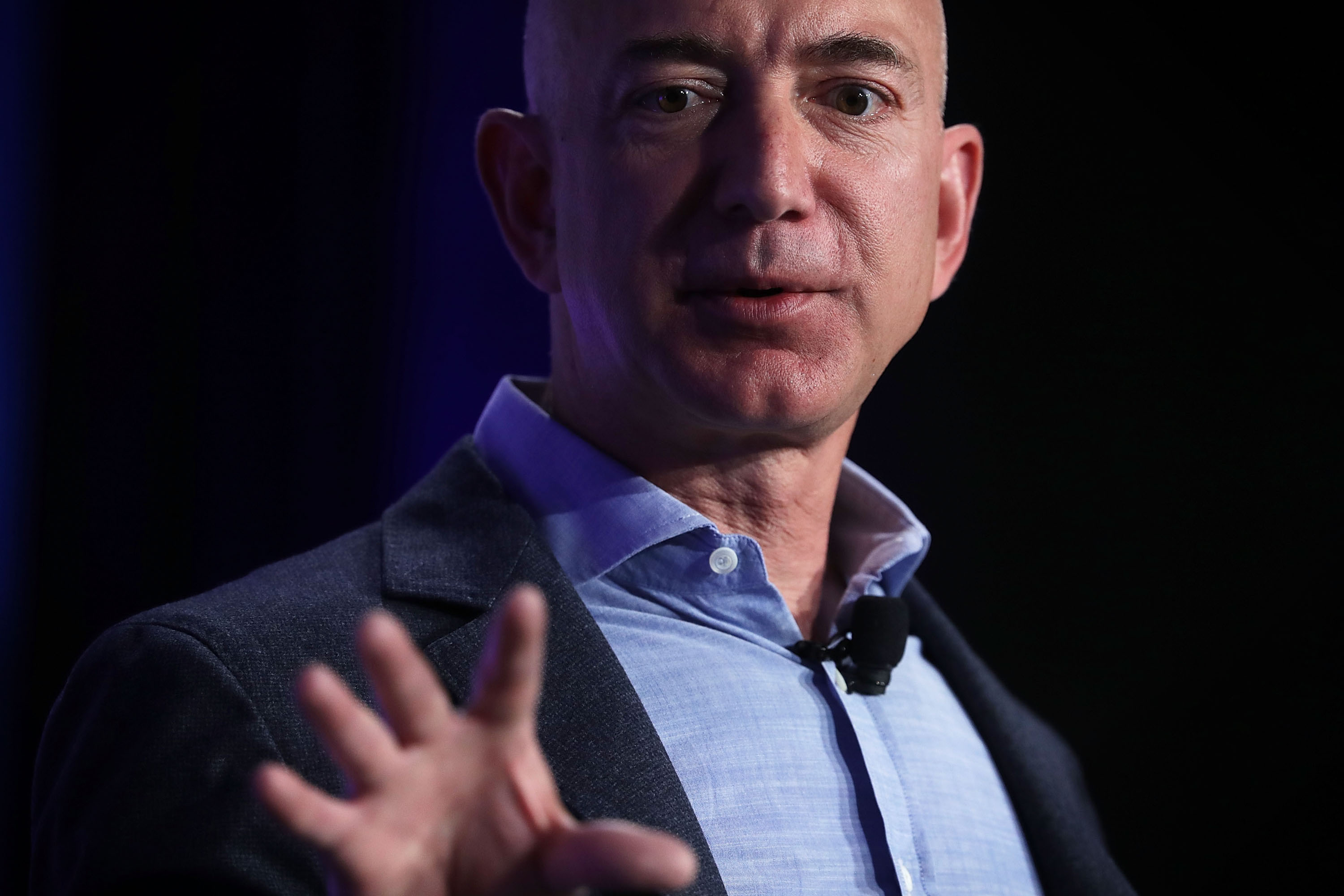 Jeff Bezos, founder and CEO of Amazon. (Getty Images)
