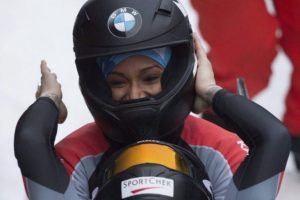 Former Track Star Competes in Winter Olympics