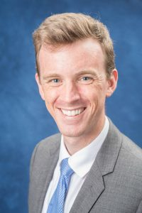 Dr. Alexander Hogan, the study's lead author from UConn School of Medicine's Department of Pediatrics and Connecticut Children's Medical Center (Photo of Connecticut Children's).