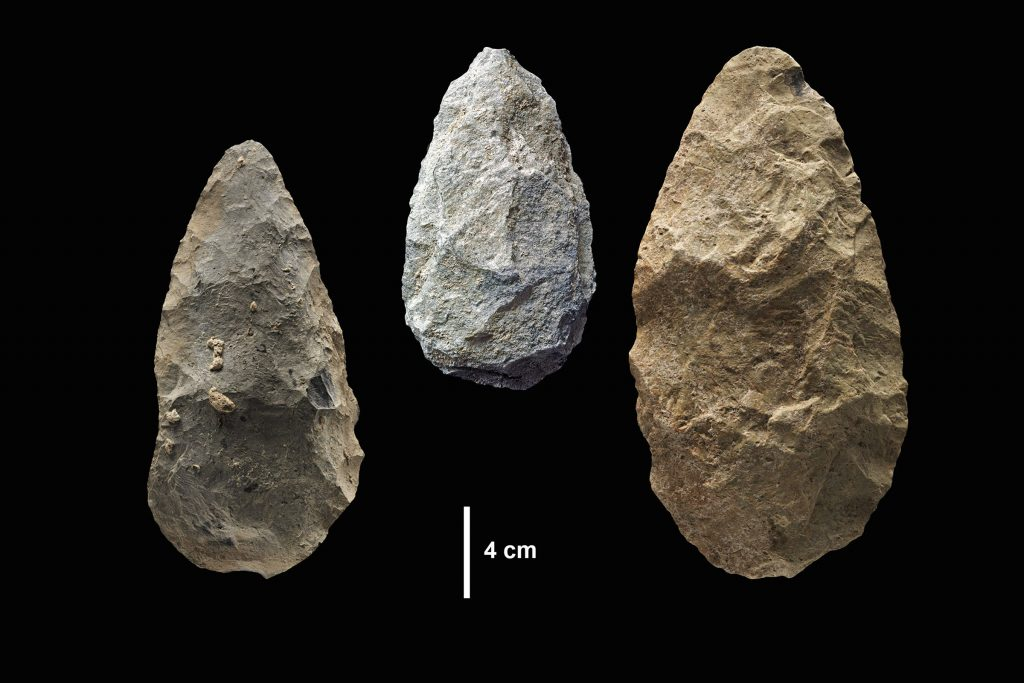Handaxes from the Olorgesailie Basin, Kenya. (Human Origins Program, Smithsonian)