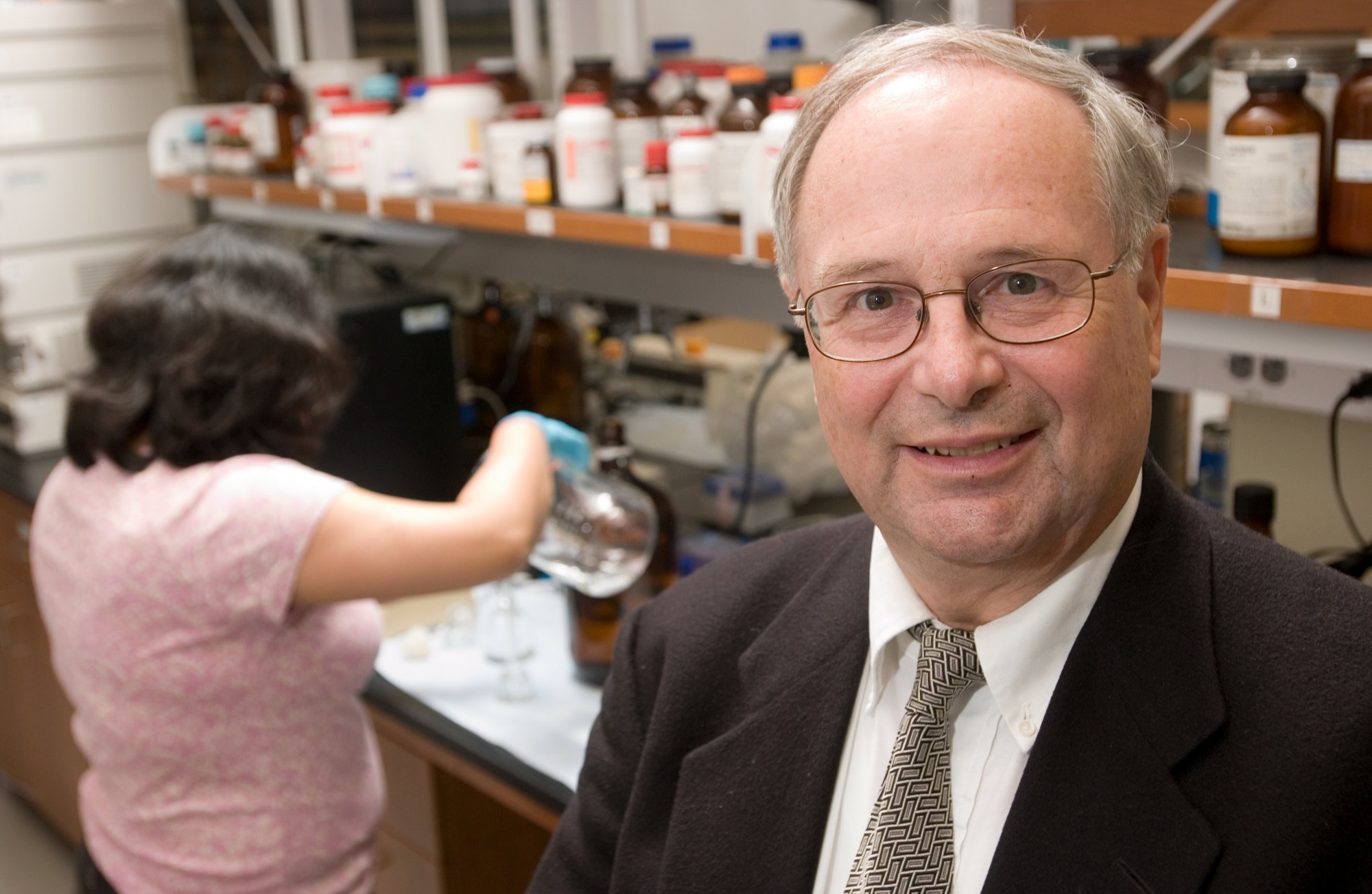 Michael Pikal, professor and department head of Pharmaceutical Sciences.