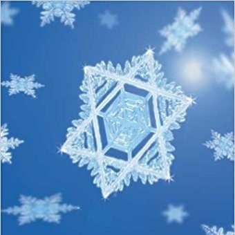 A Star of David snowflake.