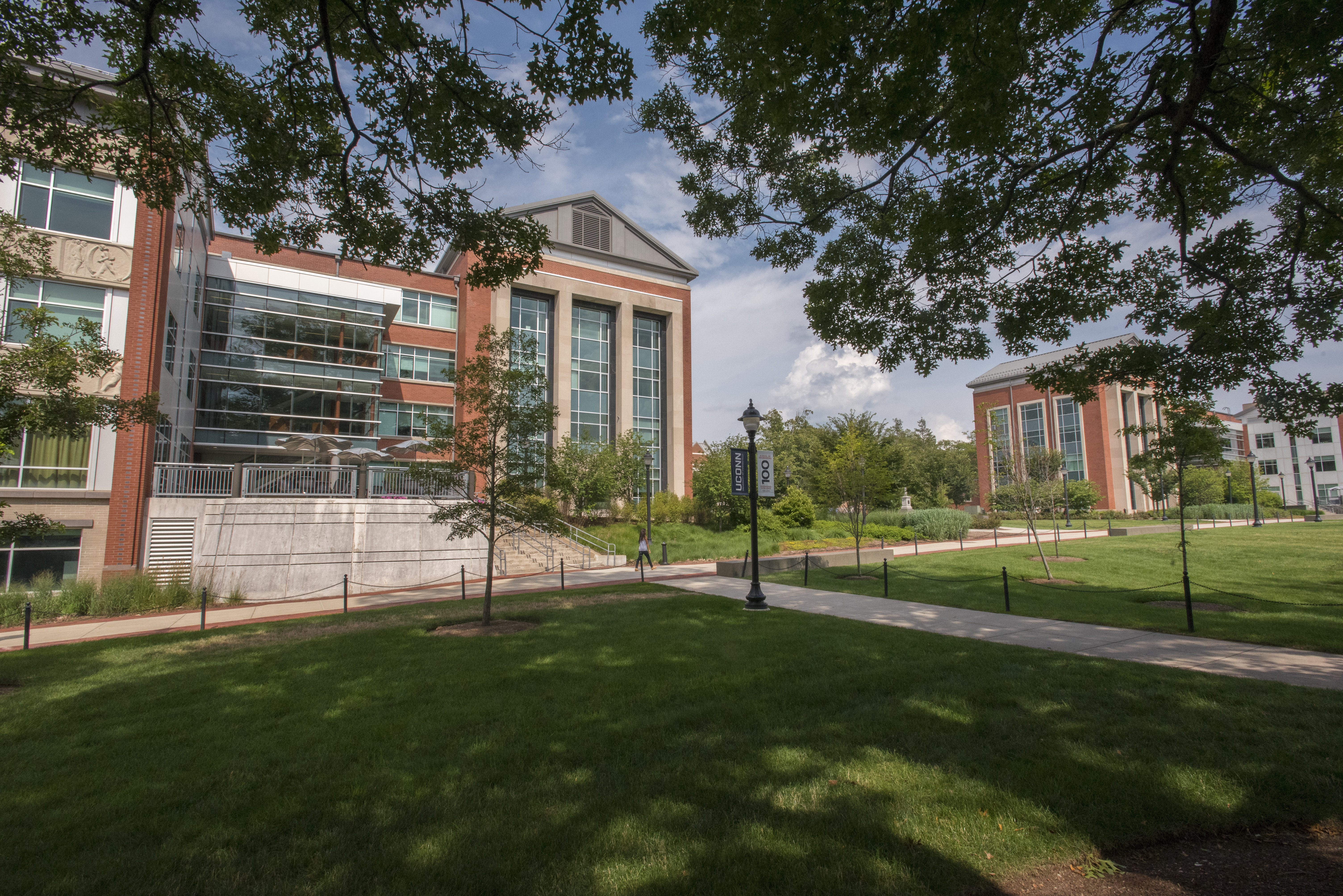 The Neag School of Education, housed in the Gentry Building on the Storrs campus, stands among the top 20 public graduate schools of education in the nation. (Sean Flynn/UConn Photo)