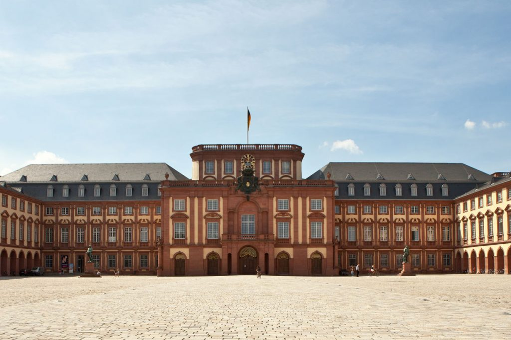 The University of Mannheim, Germany.