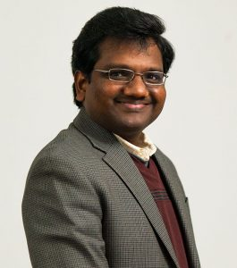 Vijay A. K. Rathinam, D.V.M., Ph.D. assistant professor of immunology at UConn Health. (UConn Photo)