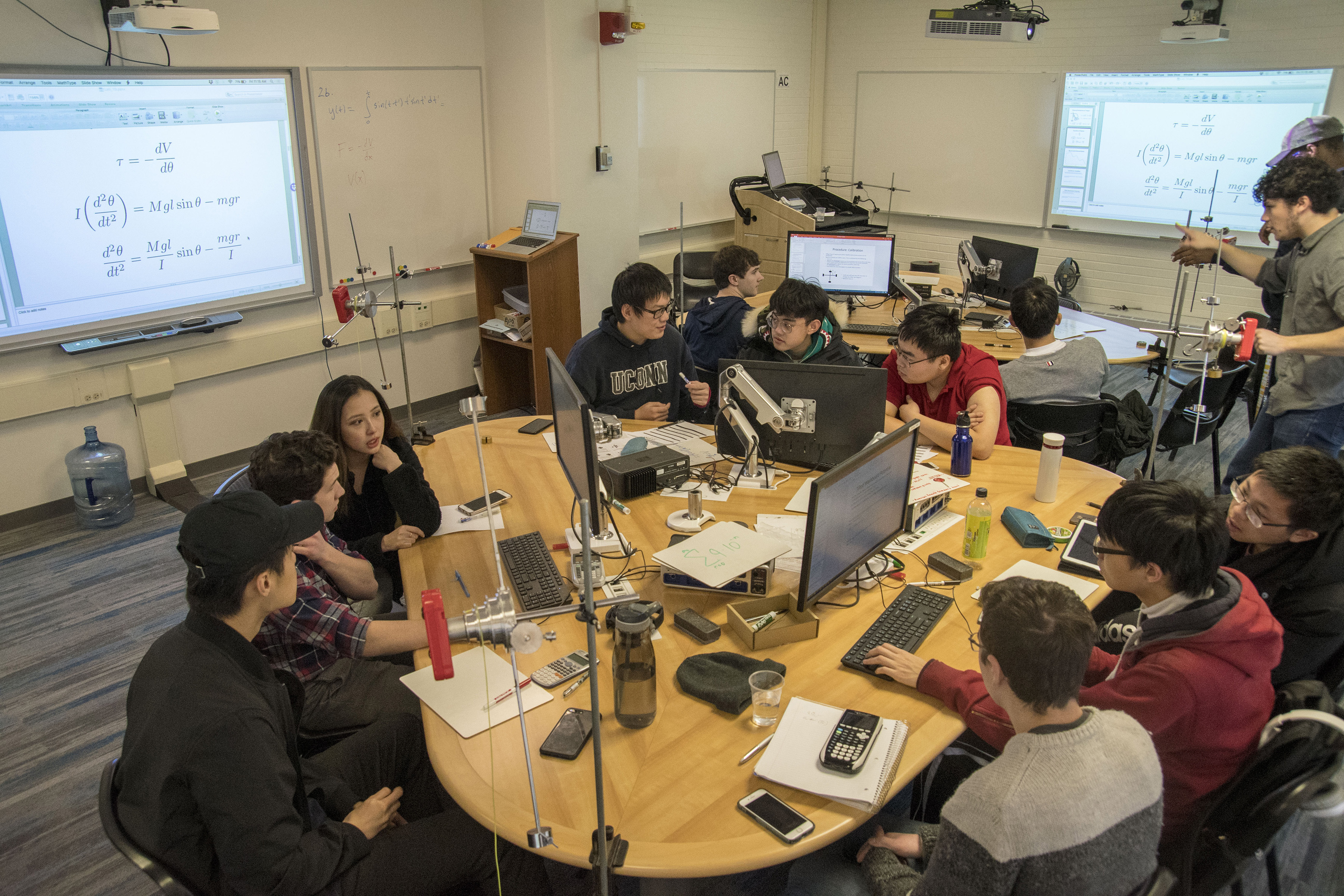 A Hands-on Approach to Learning Physics - UConn Today