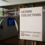 A view of the UConn Hartford Library at inside Hartford Public Library on June 19, 2018. (Peter Morenus/UConn Photo)