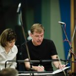 UConn composer Kenneth Fuchs, a professor of music, recorded his latest album 'Spiritualist' with the London Symphony Orchestra at the Abbey Road Studios in London, in August.