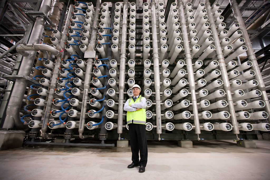 Desalination plant. (Getty Images)