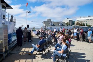 Research Vessel Recommissioned at UConn Avery Point