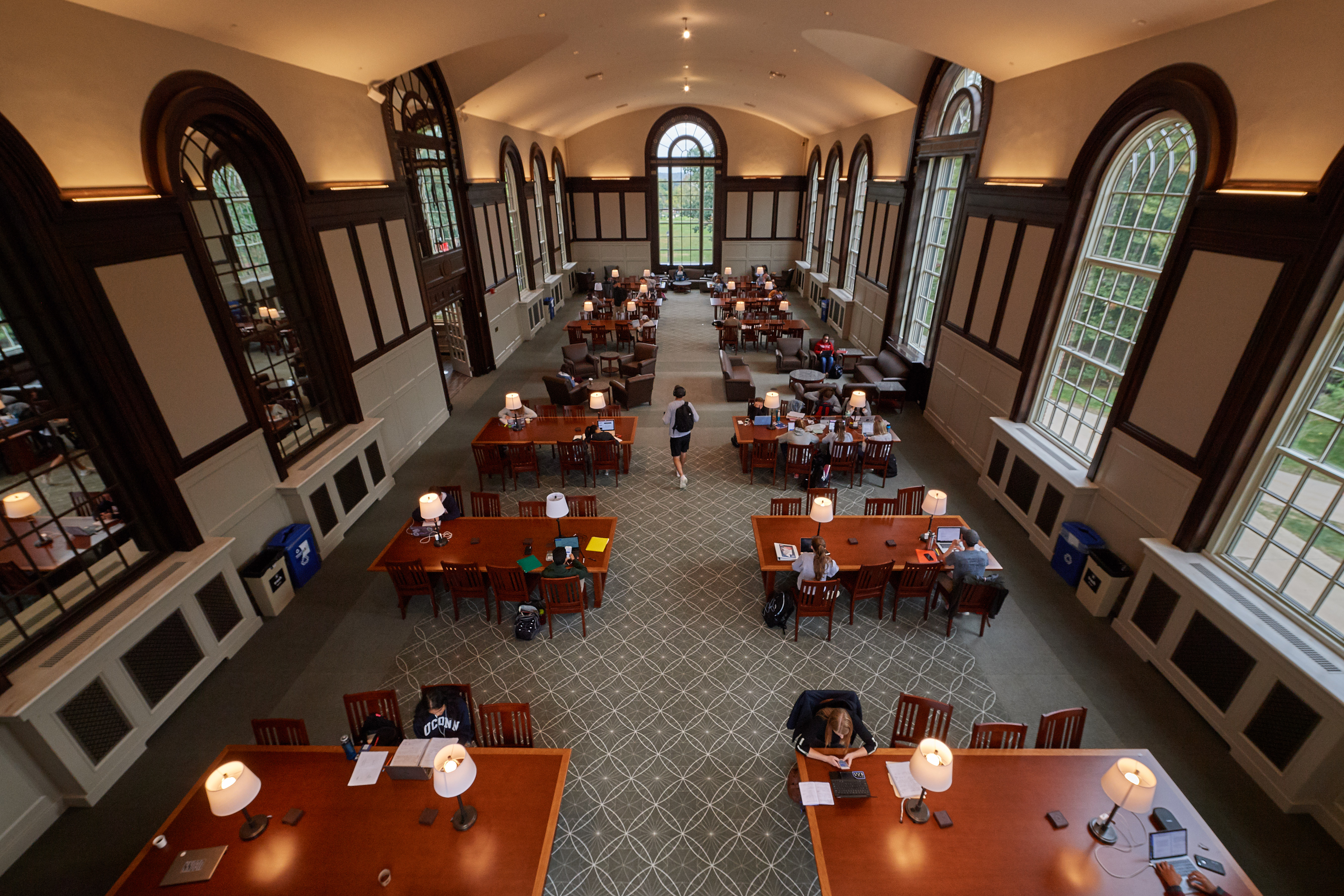 wilbur cross reading rooms restored to classic style uconn today