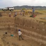 The Hahgtanak-3 site documents the earliest human occupation of Armenia and may be more than 1 million years old. The researchers used various tools, including an electronic/optical instrument for surveying, to record the precise three-dimensional location of all samples and artifacts. This contextual information is key to any archaeological reconstruction of the past.