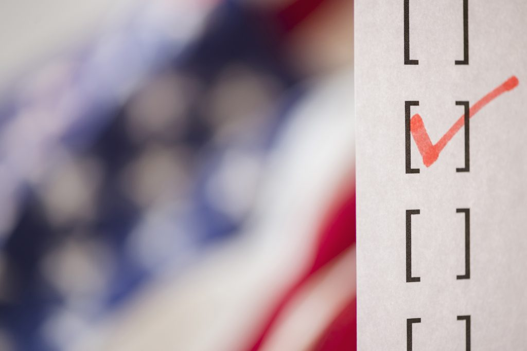 As interest in the polls burgeons in the lead-up to the midterm elections, polling expert Jennifer Dineen points out that they measure public opinion at a particular moment in time rather than predicting the future. (Getty Images)