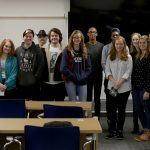 Students from across Connecticut attended an October ConnectNext speaker event at UConn Hartford with Eric Urquhart from Blue Sky Studios. (UConn Photo)