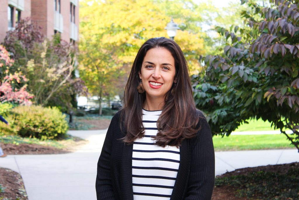 Lisa Eaton, PhD, is associate professor in the Department of Human Development & Family Studies and an affiliate of the Institute for Collaboration on Health, Intervention, and Policy (InCHIP). (Carson Stifel/UConn Photo).